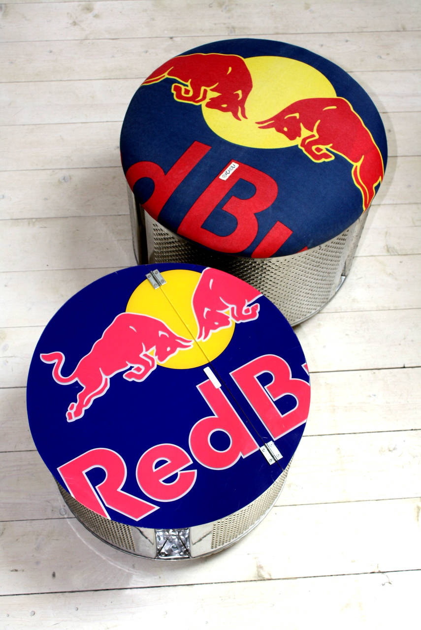 Pouf Red Bull