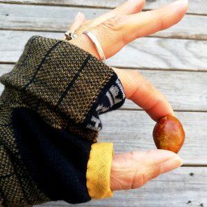 guanticalza realizzati con calze nuove ma imperfette
